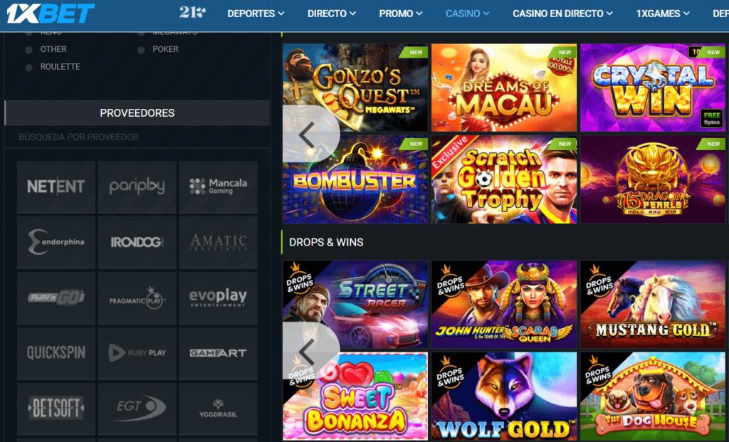 1xbet tiene los mejores juegos para jugar ven a jugar en uno de los mejores casinos online Argentina