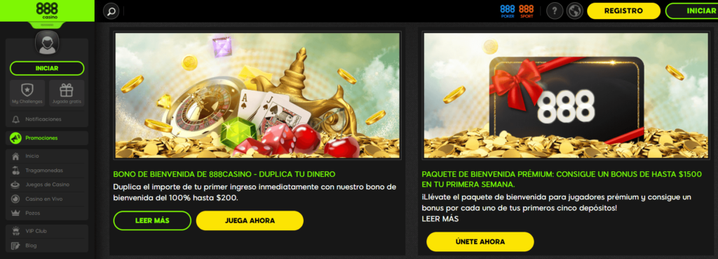 888 casino tiene buenas promociones ven a divertirte en uno de los mejores casinos online argentina